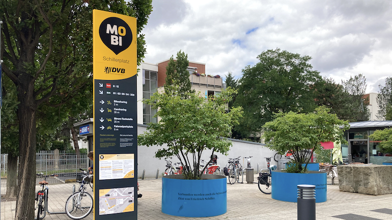 Der MOBI-Punkt am Schillerplatz