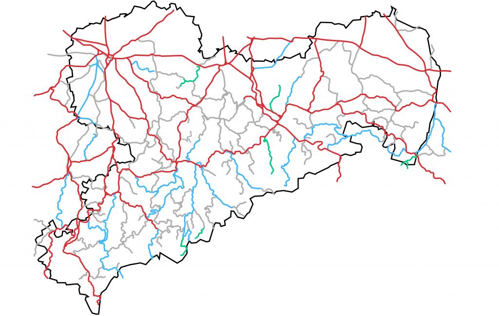 Der Bahnverlust in Sachsen im direkten Vergleich